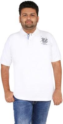 CIROCO Solid Men,s Polo Neck White T-Shirt