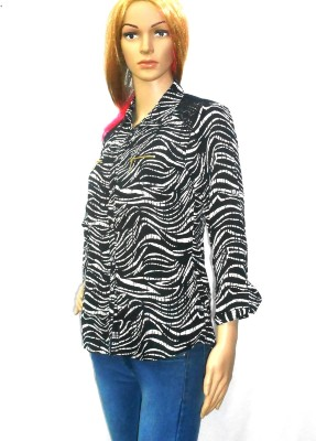 umesh fashion Women's Printed Casual Multicolor Shirt