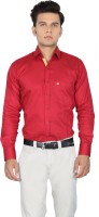The Standard Formal Shirts (Men's) - The Standard Men's Printed Formal Red Shirt