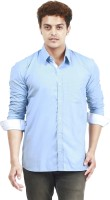 Trendster Formal Shirts (Men's) - Trendster Men's Solid Formal Blue Shirt