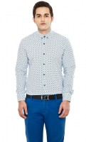 Dapper Homme Formal Shirts (Men's) - Dapper Homme Men's Self Design Formal Multicolor Shirt