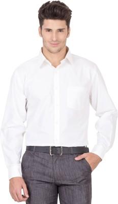 Jogur Men's Solid Casual Reversible White Shirt