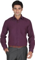 Lagnesh Formal Shirts (Men's) - Lagnesh Men's Solid Formal Purple Shirt