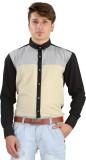Saraul Men's Solid Casual Multicolor Shi...