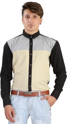Saraul Men's Solid Casual Multicolor Shirt