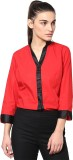 Dazzio Women's Solid Formal Red, Black S...