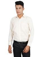 Helg Formal Shirts (Men's) - Helg Men's Solid Formal Linen Pink Shirt