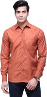 The Greek Formal Shirts (Men's) - The GreeK Men's Solid Formal Orange Shirt