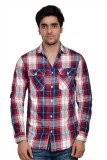 Parv Collections Men's Checkered Casual ...