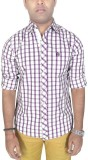 Southbay Men's Checkered Formal Purple S...
