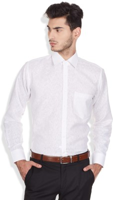 Arihant Men's Solid Formal, Party, Festive White Shirt
