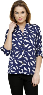 Ritzzy Women,s Printed Casual Multicolor Shirt