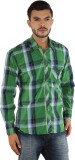 Mxx Sports Men's Checkered Casual Green,...