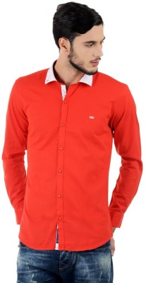 Triple Eight Men's Solid Casual Red Shirt
