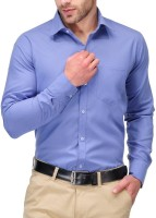 Royal Touch Formal Shirts (Men's) - Royal Touch Men's Solid Formal Light Blue Shirt