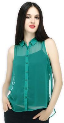 20 Dresses Women's Checkered Casual Blue, White Shirt