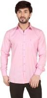 Tomiris Formal Shirts (Men's) - TomIris Men's Solid Formal Pink Shirt