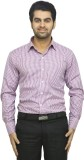 Richlook Men's Checkered Casual Red Shir...