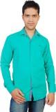 Gayo Fashion Men's Solid Casual Green Sh...