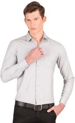 Taurus Men's Printed Casual Grey Shirt
