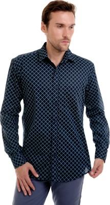 Bendiesel Men's Solid Formal Black Shirt
