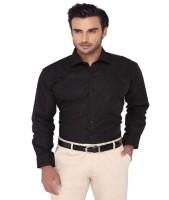 Zaraman Formal Shirts (Men's) - Zaraman Men's Solid Formal Black Shirt