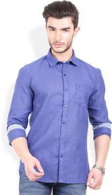 PAN VALLEY Men's Checkered Casual Red, Blue Shirt