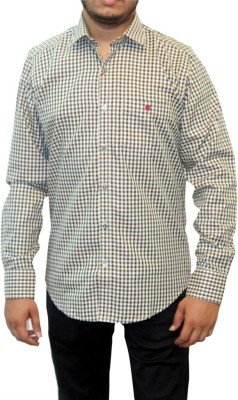 Real Value Men's Checkered Casual Multicolor Shirt