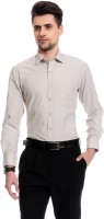 Club Avis Usa Formal Shirts (Men's) - CLUB AVIS USA Men's Self Design Formal Grey Shirt