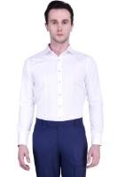 Protext Premium Formal Shirts (Men's) - Protext Premium Men's Solid Formal White Shirt