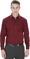 Jss Fashions Formal Shirts (Men's) - Jss Fashions Men's Solid Formal Maroon Shirt