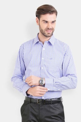 Crocodile Men's Solid Formal Multicolor Shirt