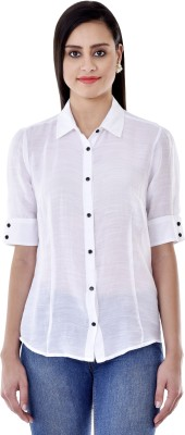 Colors Couture Women's Solid Casual Shirt