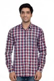Parv Collections Men's Checkered Formal ...