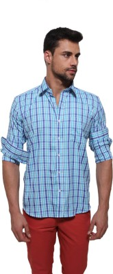 Jermyn Crest Men's Checkered Casual Multicolor Shirt