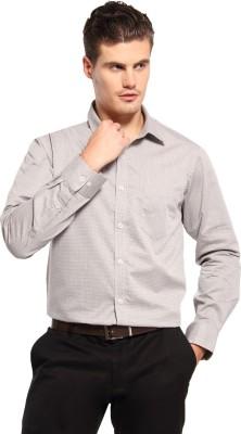 FX Jeans Co Men's Self Design Formal Multicolor Shirt