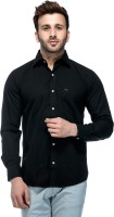 Tinted Formal Shirts (Men's) - Tinted Men's Solid Formal Black Shirt