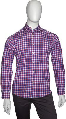 Cotton Natural Men's Checkered Casual Multicolor Shirt