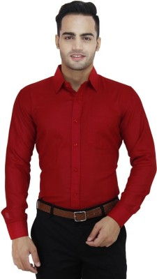 Gayo Fashion Men's Solid Casual Red Shirt