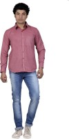 P.cod Formal Shirts (Men's) - P.COD Men's Solid Formal Red Shirt
