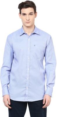 Urbano Fashion Men's Solid Casual Blue Shirt