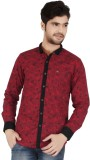 Appollo Men's Printed Casual Red Shirt
