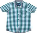 Ice Boys Boys Checkered Casual Blue Shir...