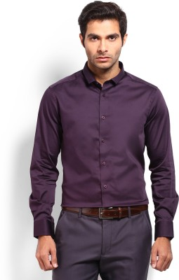 Nord51 Men's Solid Casual Maroon Shirt