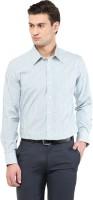 Givo Formal Shirts (Men's) - GIVO Men's Striped Formal Green Shirt