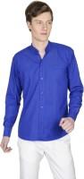 Poker Dreamz Formal Shirts (Men's) - Poker Dreamz Men's Solid Formal Blue Shirt
