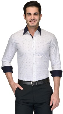 Being Fab Men's Printed Casual Multicolor Shirt