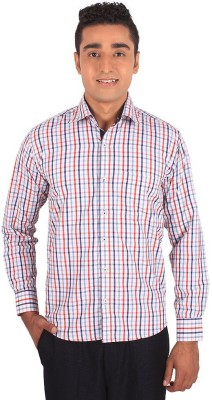Henry Spark Men's Checkered Casual Multicolor Shirt