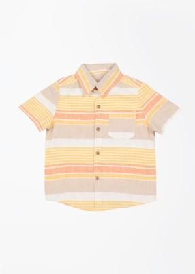 Mothercare Boy's Striped Casual Multicolor Shirt