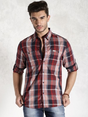 Roadster Men's Checkered Casual Shirt
